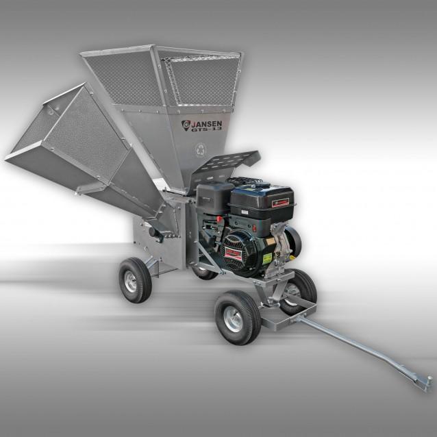 Wood chipper / garden shredder Jansen GTS-13, 15 HP