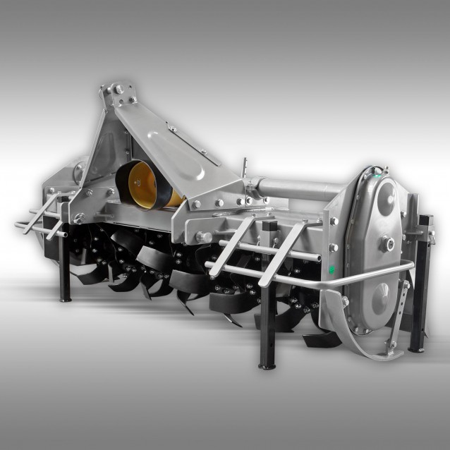 Tractor Tiller Jansen TBF-180, rotary tiller, rear tiller, field tiller. 1.80 m