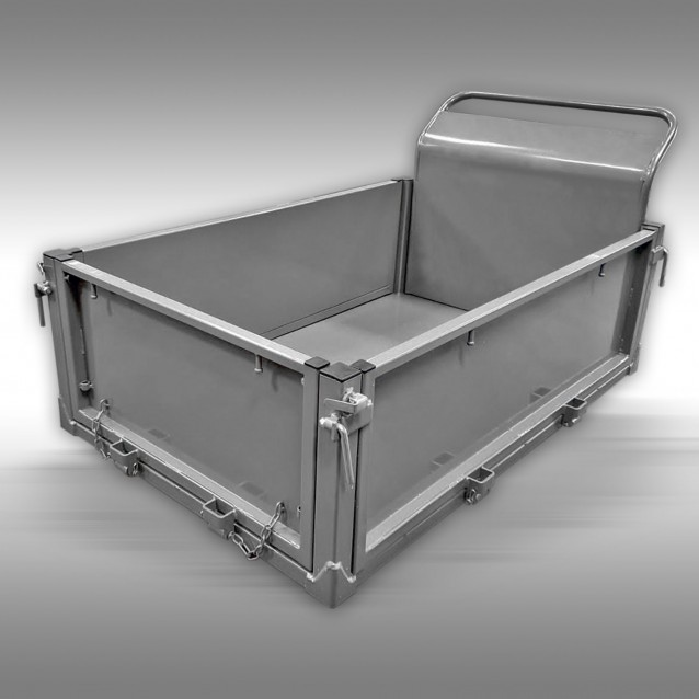Flat bed for Jansen for the track dumper RD-200 and RD-300