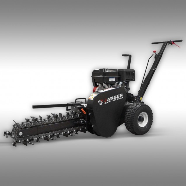 Jansen GF-600pro Trencher, B&S,15HP,cable trencher,drainage trencher,60cm