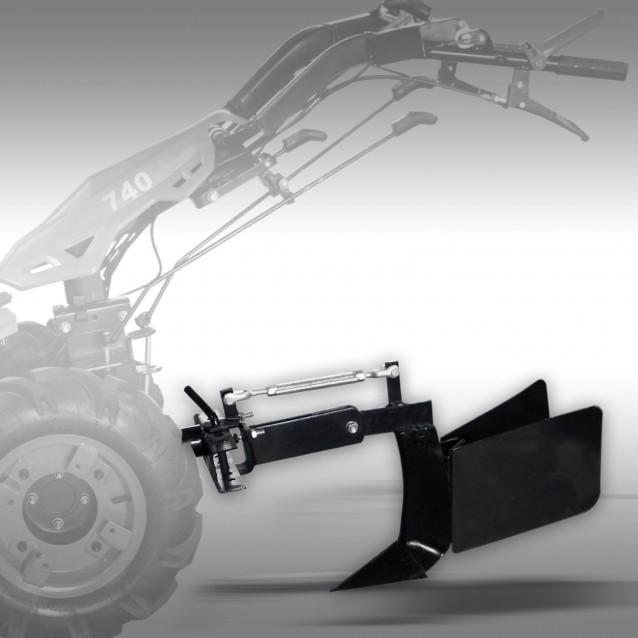 Plow/Ridger (HPF) for hand tractor Jansen MGT-420