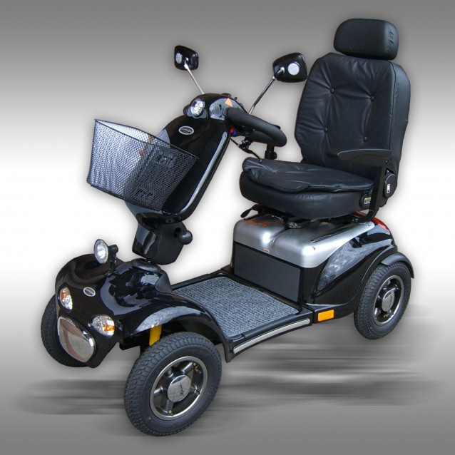 Mobility scooter Shoprider 889XLSBN, black
