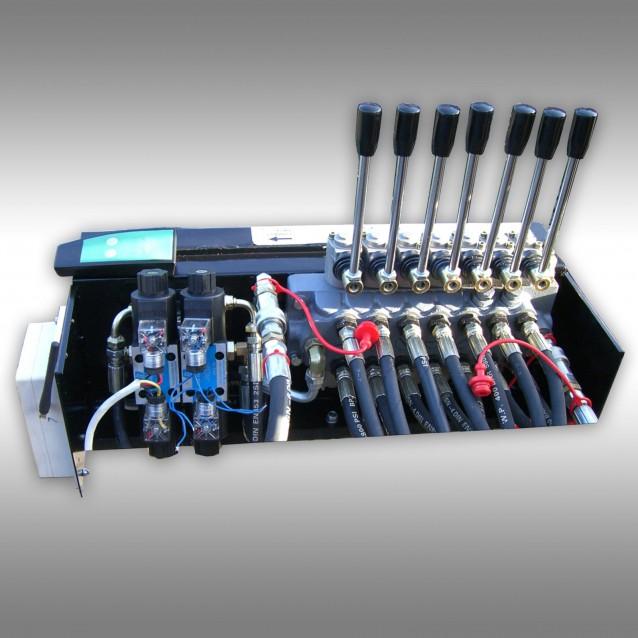 Hydraulic control valve for lumber trailer Jansen HRW-15