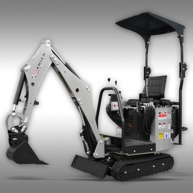 Mini excavator Jansen MB-1500, 13,5 HP, petrol engine