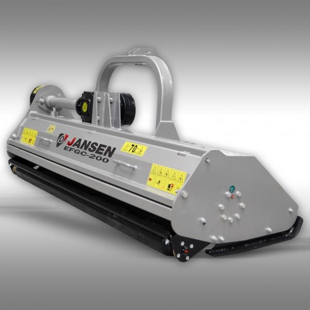 Flail mower Jansen EFGC-200