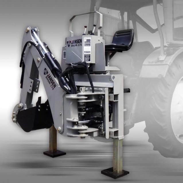Rear digger / Backhoe loader Jansen BHSM-175 incl. 300 mm bucket